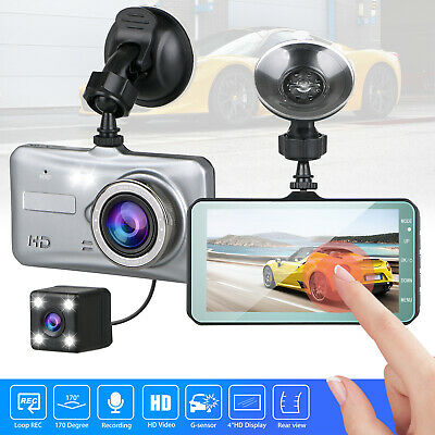 "4"" Vehicle 1080P HD Car Dashboard DVR Camera Video Recorder Dash Cam G-Sensor"