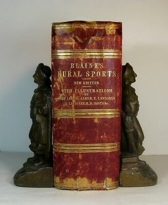 1858 Rural Sports Hunting Fishing Archery Falconry Golf Equestrian Horse Racing