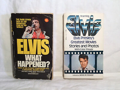 Elvis Presley What Happened First Edition Red West Dave Hebler 2 books