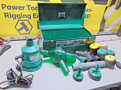 Greenlee 591 Portable Blower Power Fishing System Mighty Mouser Fish Tape Blower