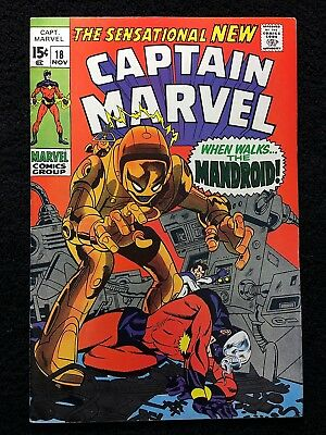 CAPTAIN MARVEL #18 CAROL DANVERS GAINS HER POWERS CAPT vs YON-ROGG!