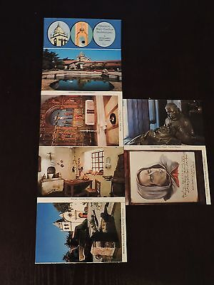 Vintage Post Cards Catholic History Mission San Carlos Junipero Serra California