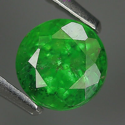 Cute1.15 Ct Ct Natural TSAVORITE GARNET Tanzania Round  Gem @ See Video !!