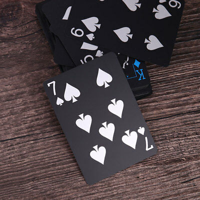53D0 Plastic Waterproof Poker Card Set Home Party Travel Board Game Magic Props