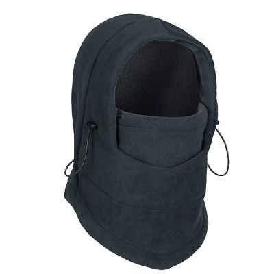 Thermal Motorcycle Fleece Balaclava Neck Winter Ski Full Face Mask Cover Hat UP