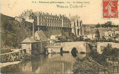 79 Thouars Pittoresque Chateau