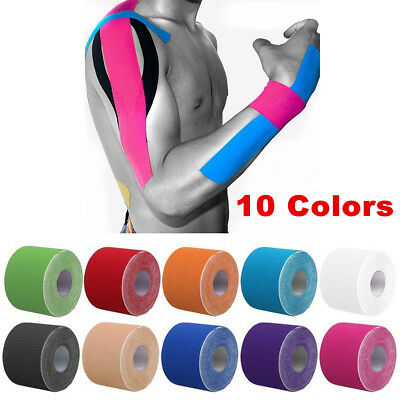 Sports Bandage Kinesiology Elastic Physio Muscle Tape PRO Pain Relief Support H