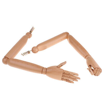 1:1 Life Size Wooden Manikin Female Arms Hands Movable Limbs Mannequin #1