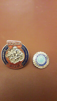Two Rare Dorman's Diesels of Stafford Badges by Fattorini & Sons