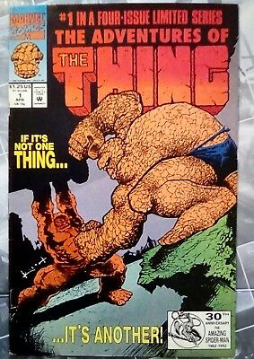 ADVENTURES OF THE THING # 1, to # 4, (Set / 1992 / MARVEL COMICS / FN / FN-)