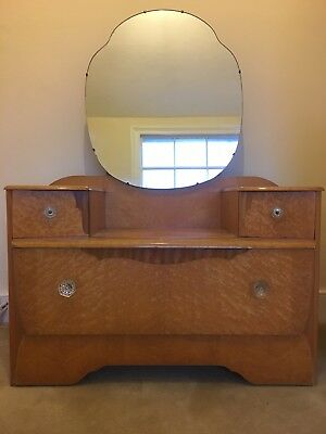 Lebus Art Deco dressing table with mirror