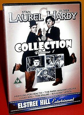 Laurel and Hardy Collection: Volume 1 DVD (2003) Stan & Oliver - PAL Region Free