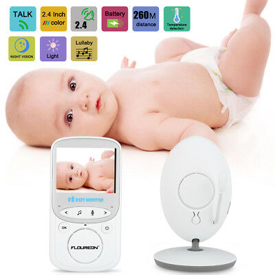 Digital Color LCD Wifi Baby Monitor Video Security Camera Tempt Night Lullabies