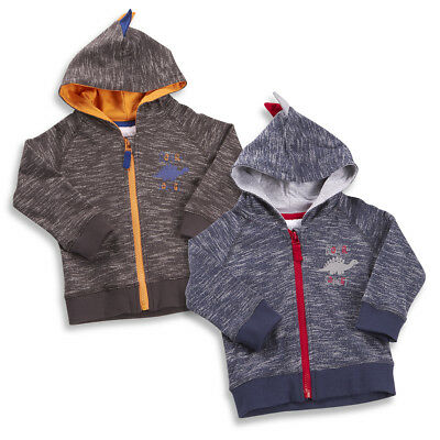 Baby Boys Hooded Jacket With Cute Dinosaur Design Bargain Price to clear