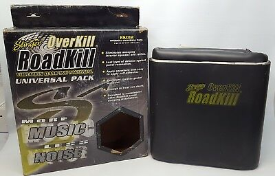 Stinger RKO12 Overkill Car 0.25'' Foam Damping Mat DIY (1/pack - 12sq.ft.) NOS#