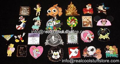 Disney Pin Lot 50 Random - No Duplicates - 100% Disney - FREE US Ship - H