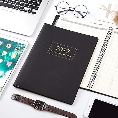 2019 Planner- Weekly Appointment Book/Planner, Daily/Hourly Planner with Tabs
