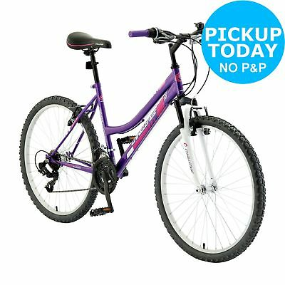 Challenge Spirit 26 Inch Front Suspension Ladies' Mountain Bike - Purple