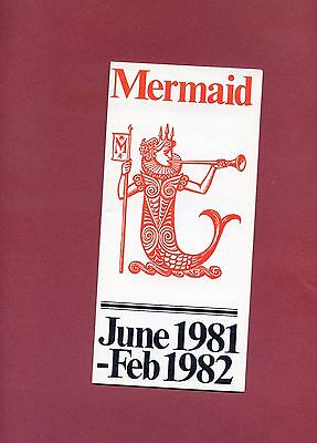MERMAID THEATRE Flyer Leaflet