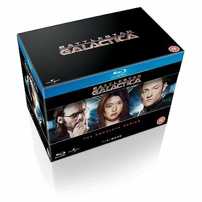 Paul Campbell, Lorena Gale-Battlestar Galactica: The Complete Series Blu-Ray NEW