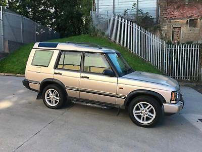 2002 02 LANDROVER DISCOVERY 4.0 V8i XS AUTO LOW MILES SPARES OR REPAIRS