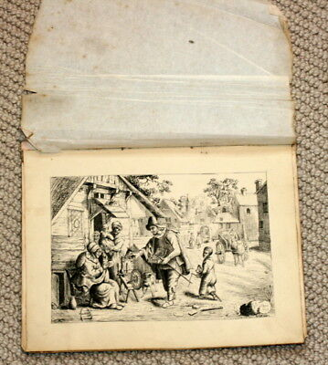 """ Not A Photocopy "" Etching Of The Spectacles Sellor Vendor, Good Cond."