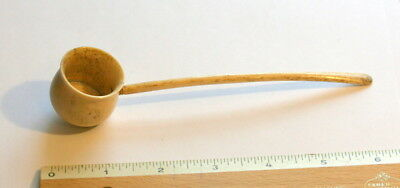 Cow Bone Apothecary Medicine Spoon , Good Cond. Well Made