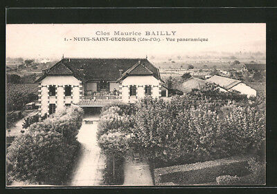 CPA Nuits St. Georges, Clos Maurice Bailly - Vue Panoramique 1926