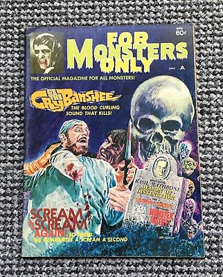FOR MONSTERS ONLY #10 June 1972 (Major Publishing USA)