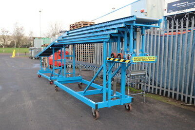 Used Vehicle Unloading Conveyor - Price Includes VAT