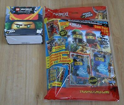 Lego® Ninjago Serie 4 Trading Card Game Starterpack + 1x Display / 50 Booster