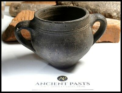 Ancient Roman English Ceramic Drinking Cup - Nene Valley Colour Coat Ware