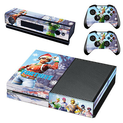 New Fortnite Season 7 Xbox One Skin Decal for Console and 2 controllers