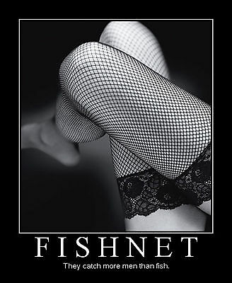 NEW SALE Fishnet, Fence Net, Whale Net Hold-Up Stockings Sizes & Colours