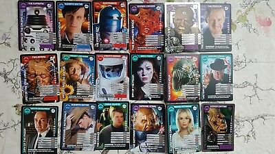 18x Doctor Who Monster Invasion Trading Cards - TV BBC Collectable - Lot 1