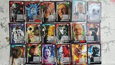 18x Doctor Who Monster Invasion Trading Cards - TV BBC Collectable - Lot 2