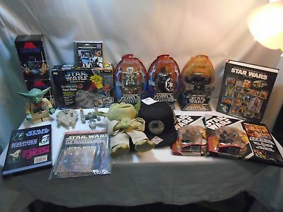 Star Wars Collectables Lot  (750)