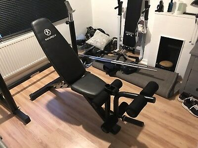 marcy weight bench With Squat Rack