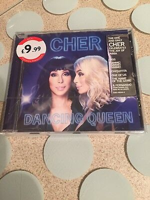 CHER DANCING QUEEN CD 2018 New And Sealed Free Postage
