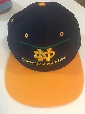 Vintage University of Notre Dame hat