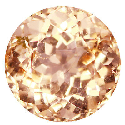1.75Ct Fair Round cut 7 x 7 mm 100% Natural Pink Morganite