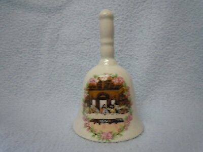 """Ceramic Porcelain BELL Jesus Christ Lord The Last Supper Apostles Holy Bible 4"""""""