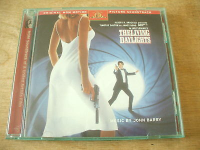 The Living Daylights - John Barry -Soundtrack Cd Deluxe Edition - James Bond 007