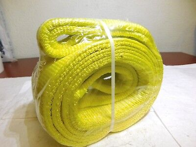 "Lift-All Nylon Web Sling 8Ft L x 4"" W 11500Lb Capacity 2 Ply EE2804DTX8 USA"