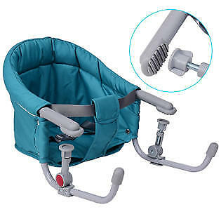 Goplus Portable Folding Baby Hook On Clip On High Chair Booster Fast Table Seat