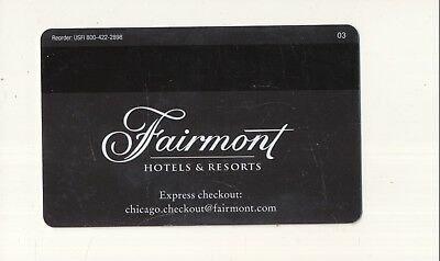 FAIRMONT HOTELS & RESORTS--Chicago,IL---Room Key--K-79