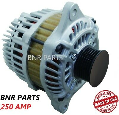 250 AMP 15728 Alternator Chrysler Dodge Jeep High Output Performance HD NEW