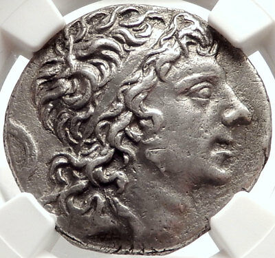 MITHRADATES VI the Great Ancient 88BC Silver Greek Tetradrachm Coin NGC i66669