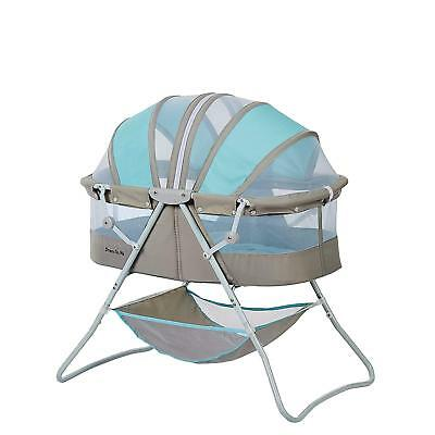 Dream On Me Karley Bassinet, Blue/Grey Includes mattress pad FREE 2 DAY SHIPPING
