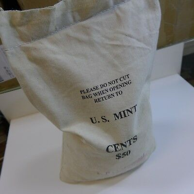 1994 MINT SEWN BAG OF 5000 LINCOLN MEMORIAL CENTS! Possible Reverse Double Die?